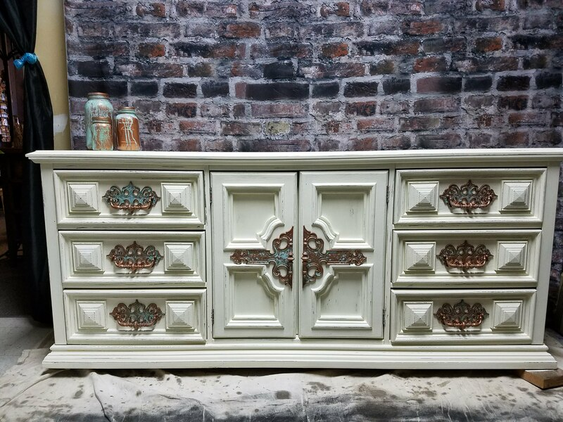 re-styled dresser